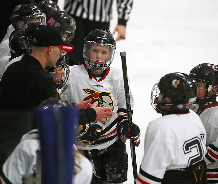 Youth Hockey Coach, Adam Thomas