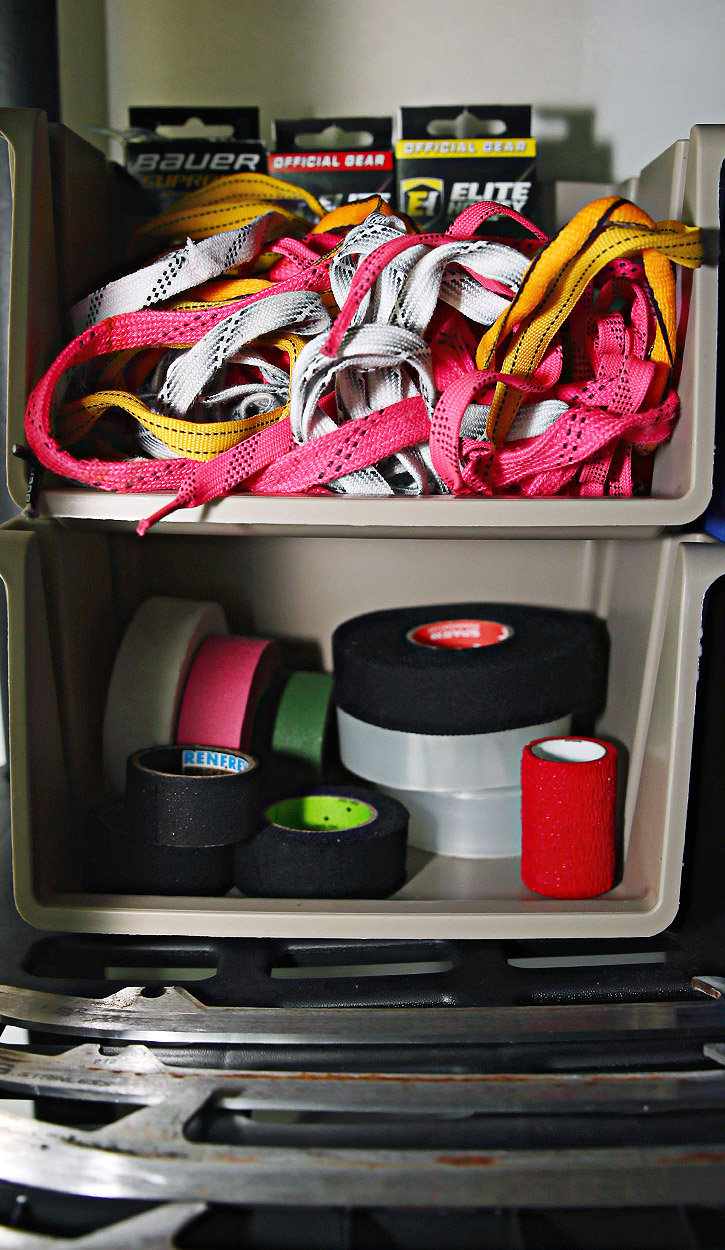 Skate Laces and Hockey Tape