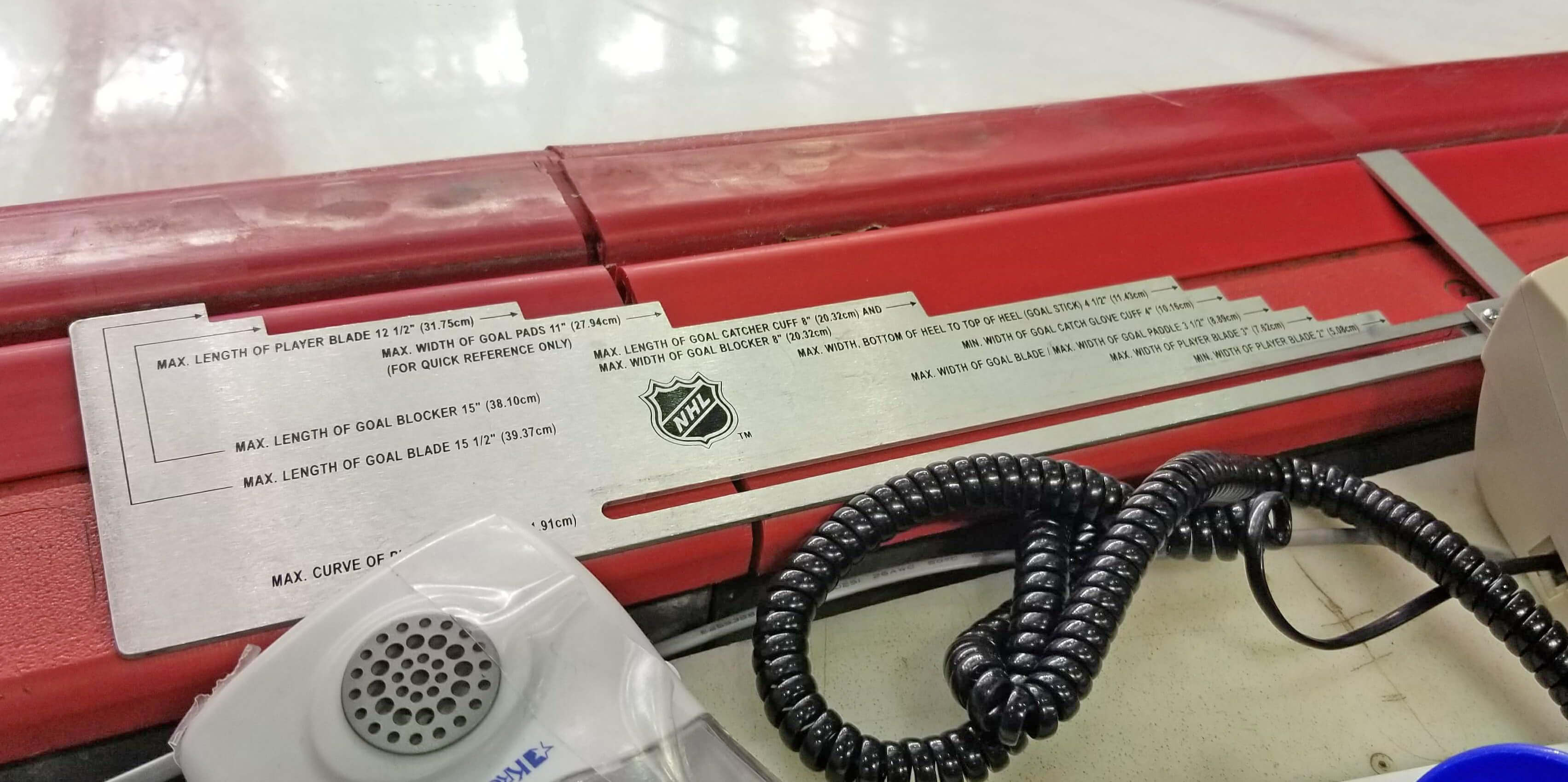 NHL Stick Checker