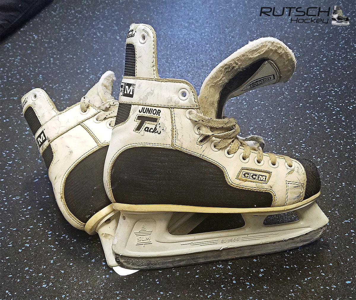 White CCM Junior Tacks